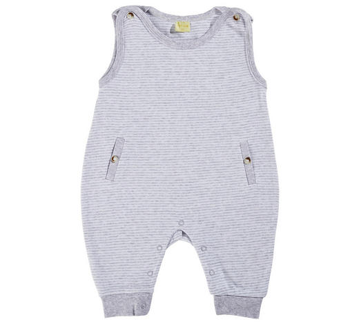 STRAMPLER  - Weiß/Grau, Basics, Textil (56null) - Patinio