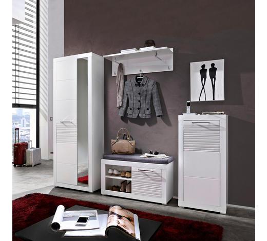 PREDSOBA bela - bela, Design, leseni material (246/201/37cm) - Xora