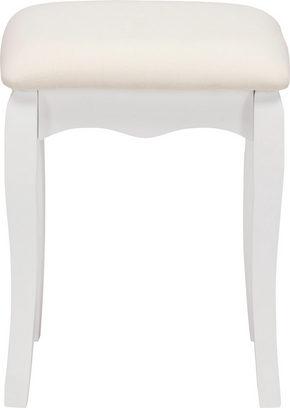 PALL - vit, Trend, metall/trä (35/45/28cm) - Ambia Home