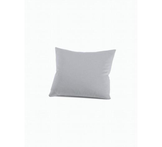 KISSENHÜLLE - Platinfarben, Basics, Textil (40/40cm) - Schlafgut