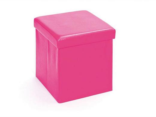 DEKOBOX Pink - Pink, KONVENTIONELL, Textil (38/38/38cm) - Carryhome
