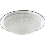 STROPNA SVETILKA ZA KOPALNICO - krom, Design, kovina/steklo (30/30/9cm) - CELINA