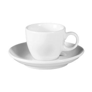 ESPRESSOTASSE MIT UNTERTASSE - Weiß, Basics, Keramik (0.09l) - SELTMANN WEIDEN
