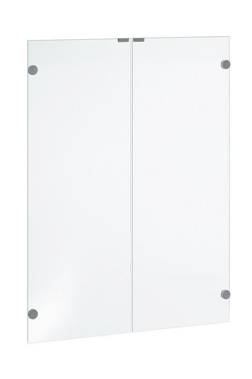 TÜR Klar - Klar, Design, Glas (75,6/102,3cm)
