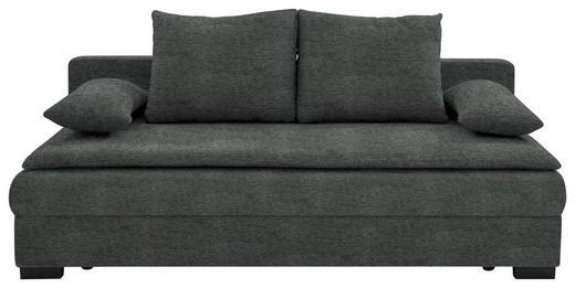 SCHLAFSOFA Anthrazit - Anthrazit/Schwarz, KONVENTIONELL, Kunststoff/Textil (207/74-94/90cm) - Venda