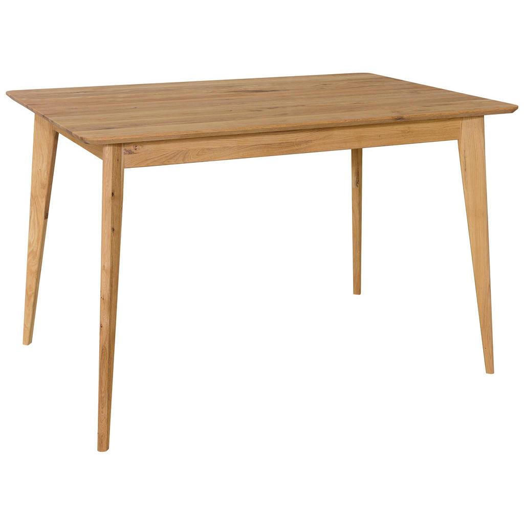 Cantus Esstisch wildeiche massiv rechteckig eichefarben , Tallinn , Holz , 80x76 cm , geölt,Echtholz , in verschiedenen Größen erhältlich , 002748007901