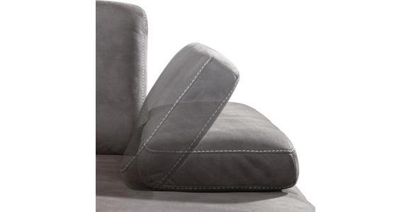 WOHNLANDSCHAFT Braun Flachgewebe  - Beige/Braun, Design, Textil/Metall (178/298cm) - Valnatura