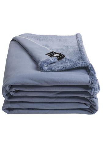 WOHNDECKE 140/190 cm Hellblau  - Hellblau, Basics, Textil (140/190cm) - Zoeppritz