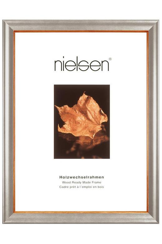 BILDERRAHMEN  Silberfarben - Silberfarben, Holz (50/70cm)