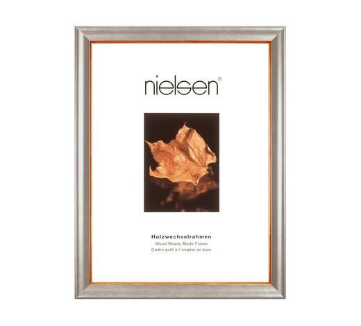 RAHMEN 40X50CM in Silberfarben  - Silberfarben, Basics, Holz (40/50cm) - Nielsen
