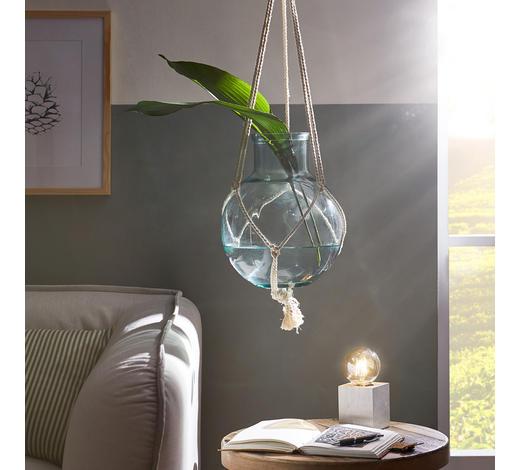DEKOVASE ZUM HÄNGEN 29 cm  - Klar/Transparent, Design, Glas (29cm)