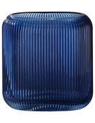 VASE 17 cm  - Blau, Basics, Glas (17cm)