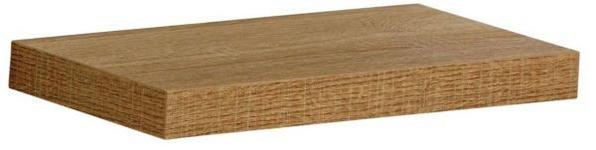 WANDBOARD in 30/15/2,8 cm Eichefarben - Eichefarben, Design, Holzwerkstoff (30/15/2,8cm) - Novel