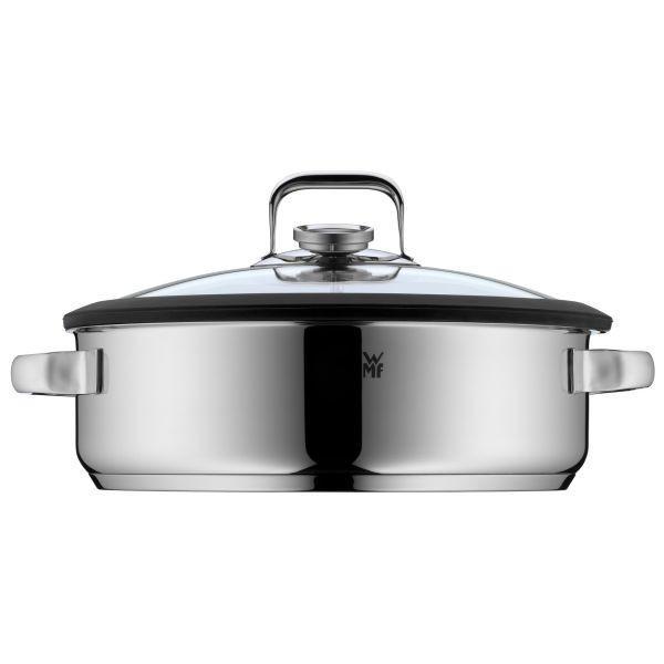 DAMPFBRÄTER - Basics, Glas/Metall (28cm) - WMF