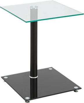 AVLASTNINGSBORD - Design, metall/glas (40/52/40cm)