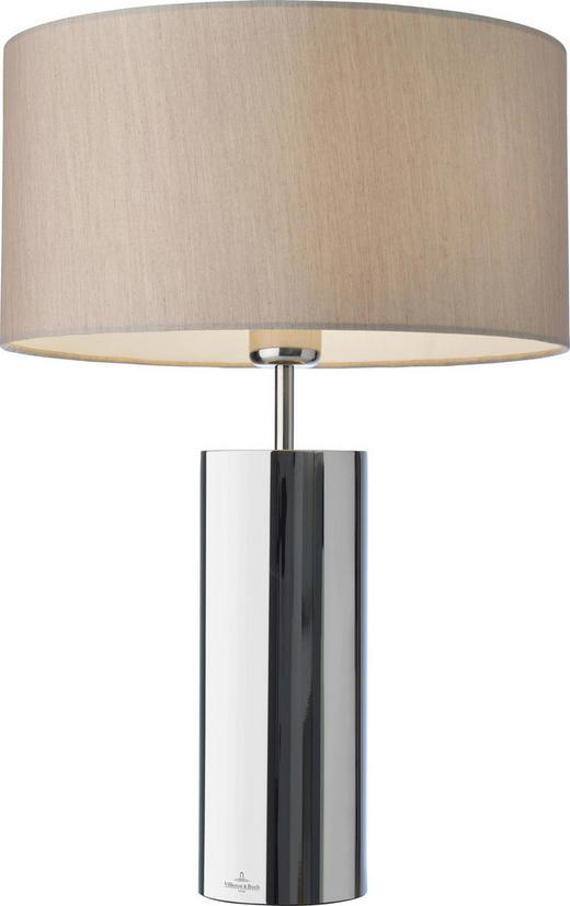 TISCHLEUCHTE - Chromfarben/Edelstahlfarben, Design, Textil/Metall (36/53cm) - Villeroy & Boch