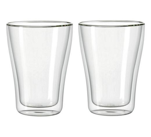 Teegläser-Set 2-teilig - Klar, Design, Glas (0,345l) - Leonardo