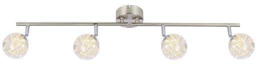 LED-STRAHLER - Klar, MODERN, Glas/Metall (80/10/19,5cm)