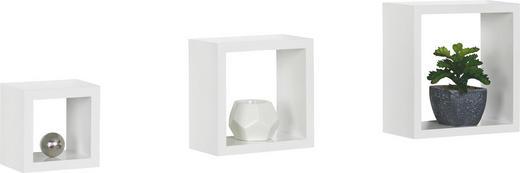 WANDBOARD Weiß - Weiß, Basics (23/23/10cm)