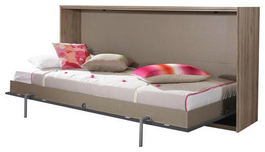 KLAPPBETT 90/200 cm - Eichefarben/Grau, Design (90/200cm) - Carryhome