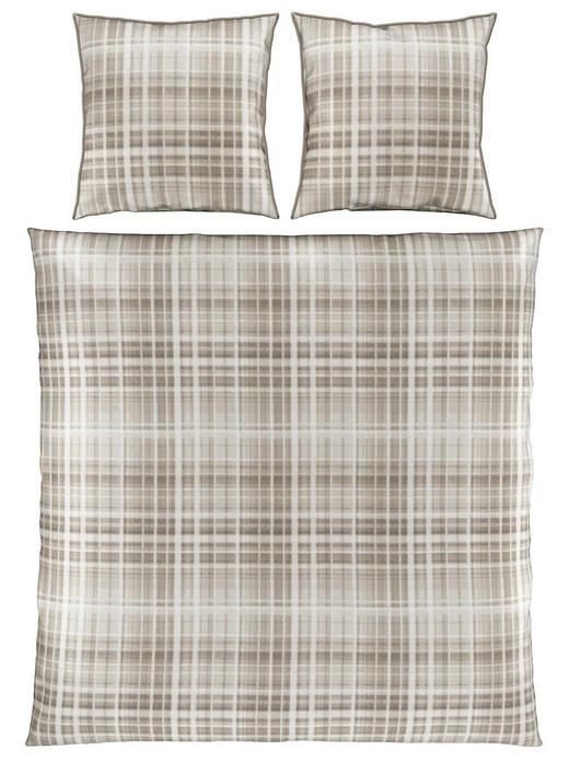 BETTWÄSCHE Satin Taupe 200/200 cm - Taupe, KONVENTIONELL, Textil (200/200cm) - Ambiente