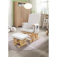 KŘESLO KOJICÍ - krémová/přírodní barvy, Lifestyle, dřevo/textil (73/56/101cm) - My Baby Lou