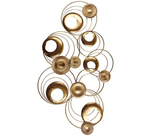 Wanddeko  - Goldfarben, Trend, Metall (5/120/70cm)