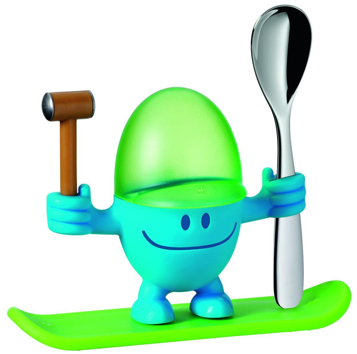 ČAŠICA ZA JAJE - zelena/plava, Konvencionalno, metal/plastika (11cm) - WMF
