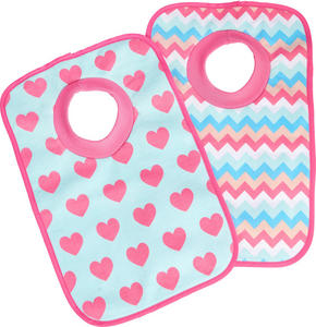 HAKLAPP - vit/pink, Basics, textil (23,5/37cm) - My Baby Lou