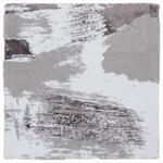 BADTEPPICH  60/60 cm  Lila, Weiß, Hellgrau   - Lila/Hellgrau, Design, Textil (60/60cm) - Ambiente