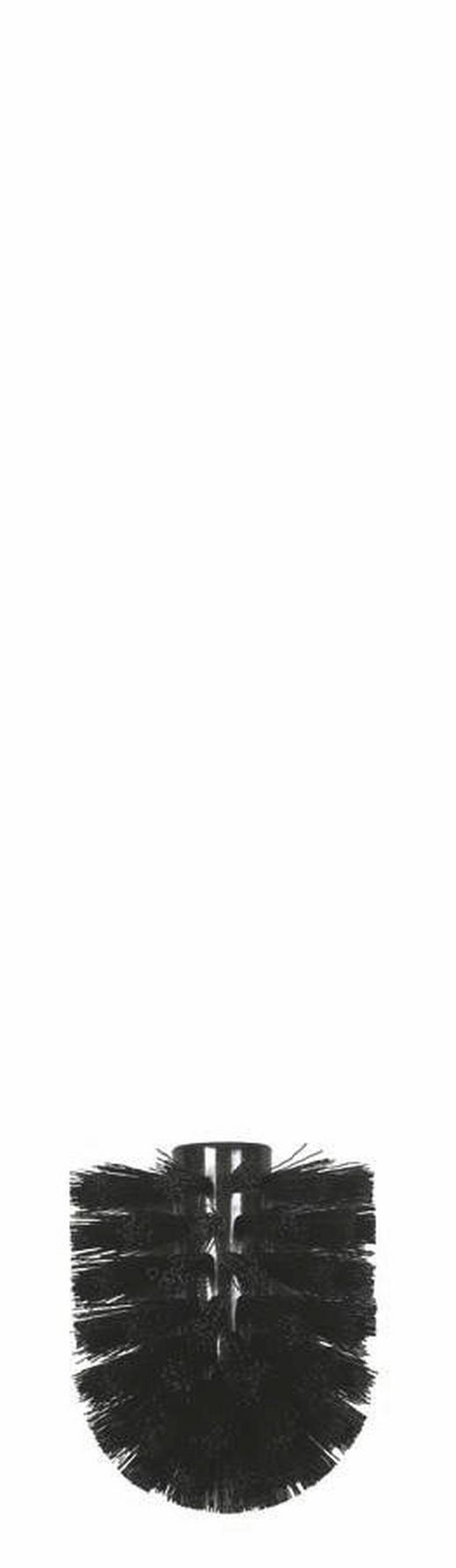 ERSATZBÜRSTENKOPF - Schwarz, Basics, Kunststoff (0.83cm) - Spirella