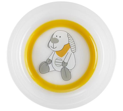 KINDERTELLER  - Transparent/Orange, Basics, Kunststoff - My Baby Lou