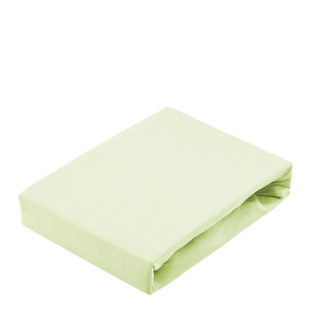 Bio:Vio Spannbetttuch jersey hellgrün , Florida , Textil , 200 cm , Jersey , 004996001107
