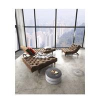 CHESTERFIELD-SESSEL in Textil Braun  - Braun, Design, Holz/Textil (115/79/90cm) - Innovation