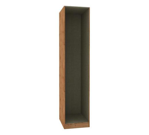 KLEIDERSCHRANKKORPUS - Eichefarben, MODERN, Holzwerkstoff (45,6/210/56,5cm) - Hom`in