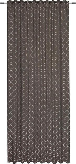 GARDINLÄNGD - mullvadsfärgad/gråbrun, Design, textil (140/245cm) - Esposa