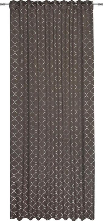 ZÁVĚS - šedohnědá, Design, textil (140/245cm) - ESPOSA