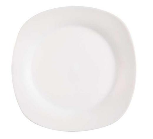 DESSERTTELLER 20,5 cm  - Weiß, Basics, Keramik (20,5cm) - Homeware