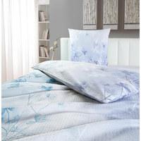 BETTWÄSCHE Seersucker Blau 135/200 cm  - Blau, KONVENTIONELL, Textil (135/200cm) - Novel