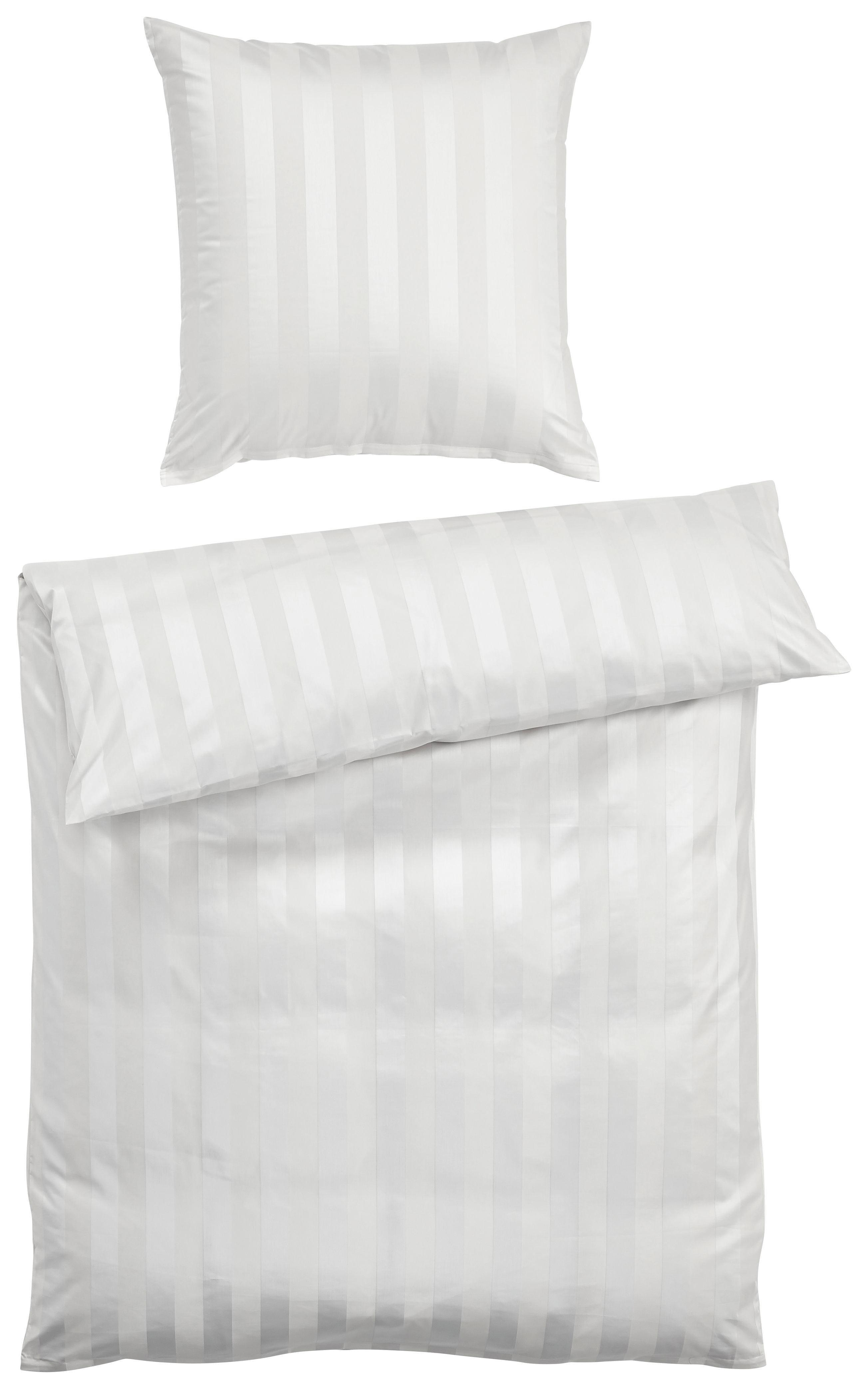 BETTWÄSCHE Weiß 135/200 cm - Weiß, Basics, Textil (135/200cm)