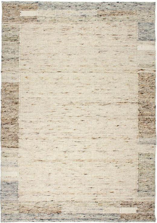 HANDWEBTEPPICH  130/190 cm - Natur, Weitere Naturmaterialien (130/190cm) - Linea Natura