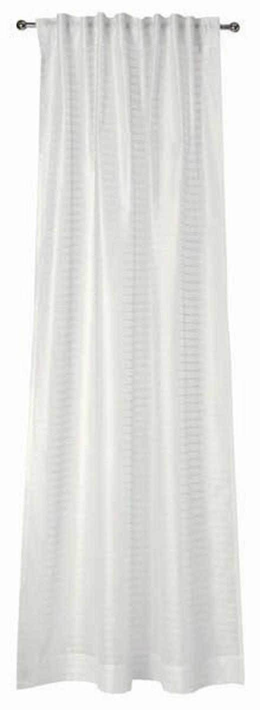 VORHANGSCHAL transparent - Silberfarben, Design, Textil (130/250cm) - Joop!