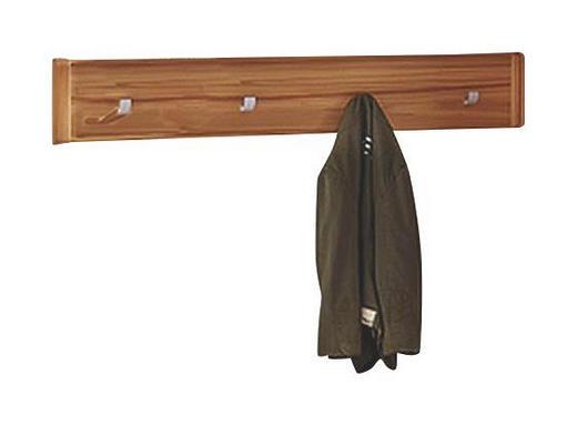 GARDEROBENLEISTE Strukturbuche furniert Eichefarben - Eichefarben, Design, Holz (111/18/2,5cm) - LINEA NATURA