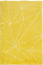 BADTEPPICH in Gelb 60/90 cm - Gelb, Design, Kunststoff/Textil (60/90cm) - Kleine Wolke
