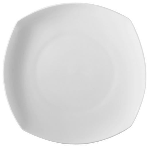 SPEISETELLER Bone China - Weiß, Basics (26,5cm) - NOVEL