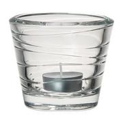 TEELICHTGLAS - Transparent, Basics, Glas (9,30/8,00/9,30cm) - Leonardo