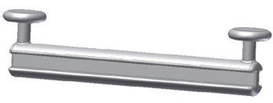 GLEITER  - Weiß, Basics, Kunststoff (6.3/1.5cm) - Homeware