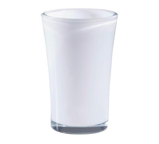 VASE  - Weiß, LIFESTYLE, Glas (22cm) - Leonardo