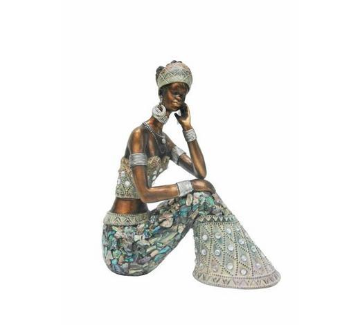 DEKODAME - Multicolor, LIFESTYLE, Kunststoff (15,5/7,5/19cm) - Ambia Home