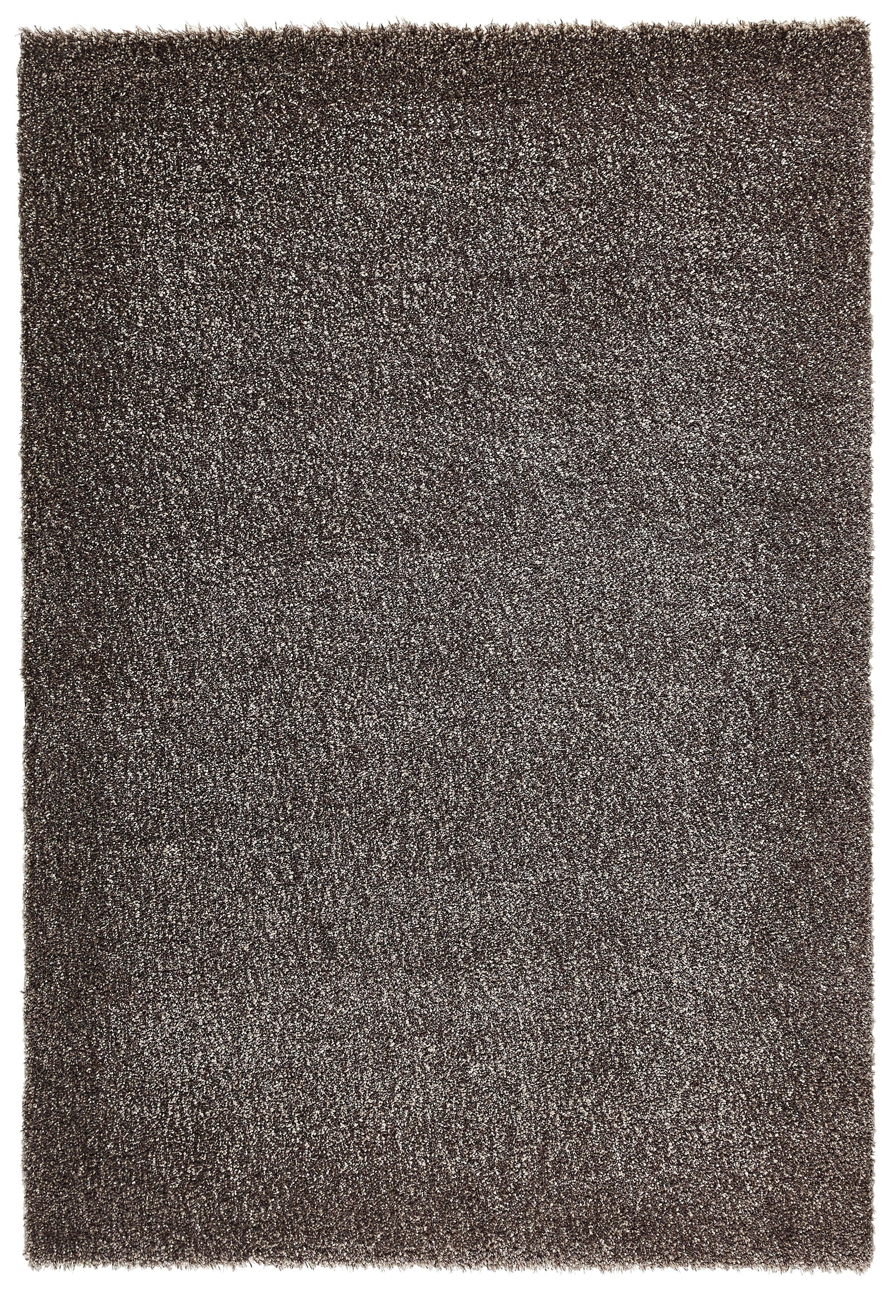 HOCHFLORTEPPICH  gewebt  Grau  135/200 cm - Grau, Textil (135/200cm) - NOVEL